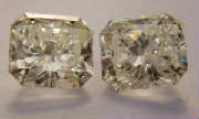 Radiant Cut diamond pair. 2.04 Ct. T.W. Call for details .jpg