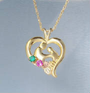 "Landstroms ""Mother and Child"" heart pendant DISCONTINUED_0657.jpg"